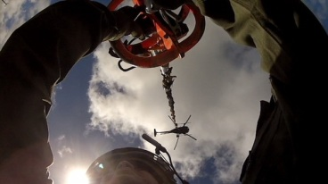 Helicopter sling load training (photo David M. Golden)