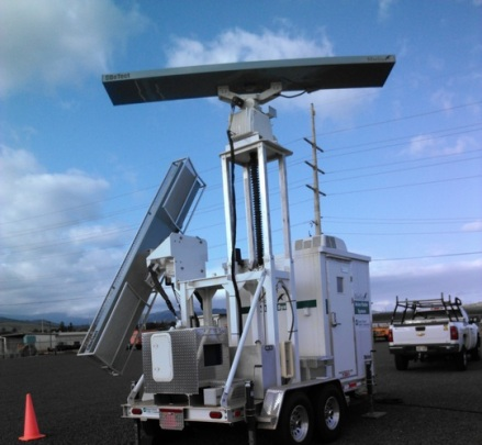 The MERLIN radar unit is another type of radar used to monitor endangered seabirds