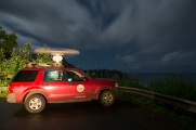 Radar surveys are conducted at a number of different locations all around Kauaʻi.