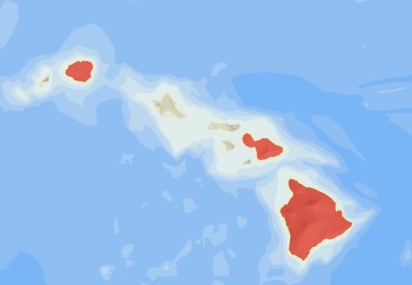 BANP distribution map