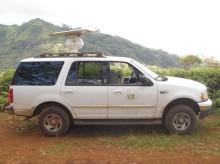 Radar survey truck