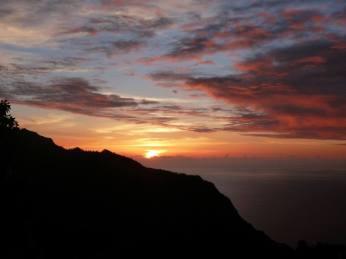 Sunset at Upper Limahuli Preserve